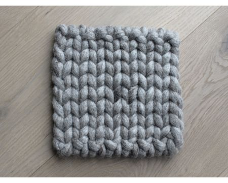 Braided Coaster - Sand Brown