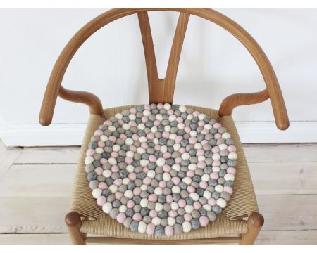 Chair pad Light Pink